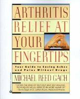 Arthritis Relief at your Fingertips