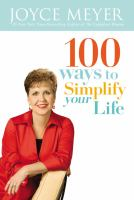 100 Ways to Simplify your Life