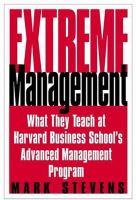Extreme Management