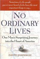 No Ordinary Lives