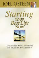 Starting your Best Life Now