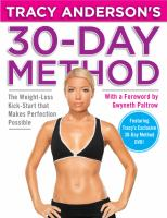 Tracy Anderson's 30 Day Method