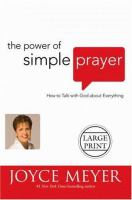 The Power Of Simple Prayer (lgpr)