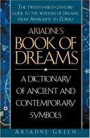 Ariadne's Book of Dreams