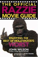 The Official Razzie Movie Guide