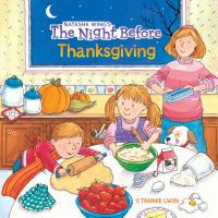 The Night Before Thanksgiving book cover
