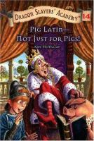 Pig Latin-- Not Just for Pigs!