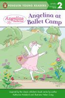 Angelina at Ballet Camp