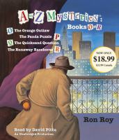 A to Z Mysteries, Books O to R