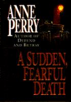 A Sudden Fearful Death