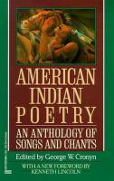 American Indian Poetry