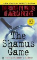 The Shamus Game : 14 New Stories Of Detective Fiction