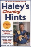 Haley's Cleaning Hints