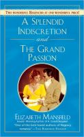 A Splendid Indiscretion