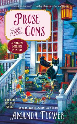 Cover of Prose and Cons: A Magical Bookshop Mystery by Amanda Flower