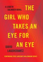 The Girl Who Takes an Eye for an Eye- Debut