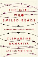 Cover of The Girl Who Smiled Beads: