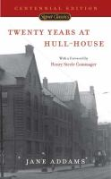 Twenty Years at Hull-House