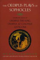 The Oedipus Plays of Sophocles