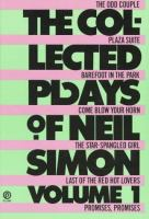 The Collected Plays of Neil Simon, Volume I