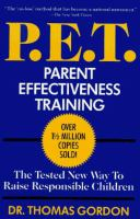 P.E.T., Parent Effectiveness Training