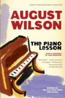 Book Cover for The Piano Lesson