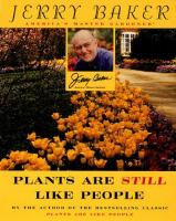 Plants Are Still Like People