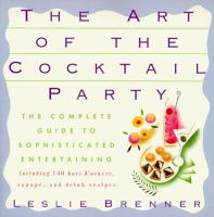 The Art of the Cocktail Party