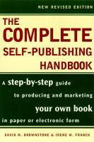 The Complete Self-publishing Handbook
