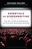 Essentials of Screenwriting