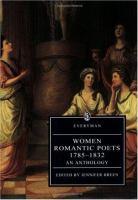 Women Romantic Poets 1785-1832