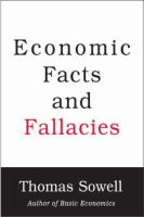 Economic Facts and Fallacies