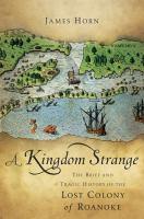 A Kingdom Strange