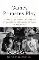 Games Primates Play
