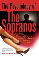The Psychology of the Sopranos