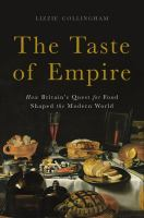 Cover of The Taste of Empire: How B