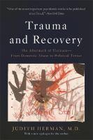 Trauma and Recovery
