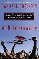 An Unbroken Agony