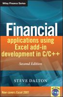Financial Applications Using Excel Add-in Development in C/C++, 2nd Edition