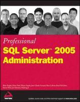 Professional SQL Server 2005 Administration