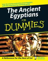 Ancient Egyptians for Dummies