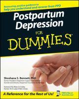 Postpartum Depression for Dummies