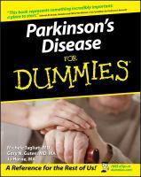 Parkinson's Disease for Dummies