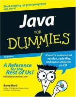 Java for Dummies, 4th Edition