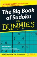 The Big Book of Sudoku for Dummies