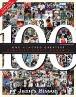 The 100 Greatest Canadian Sports Moments