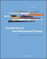 Introduction to Two-dimensional Design