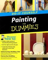 Do-it-yourself Painting for Dummies