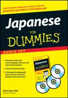 Japanese for Dummies Audio Set