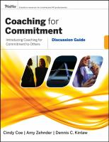 Coaching for Commitment Discussion Guide